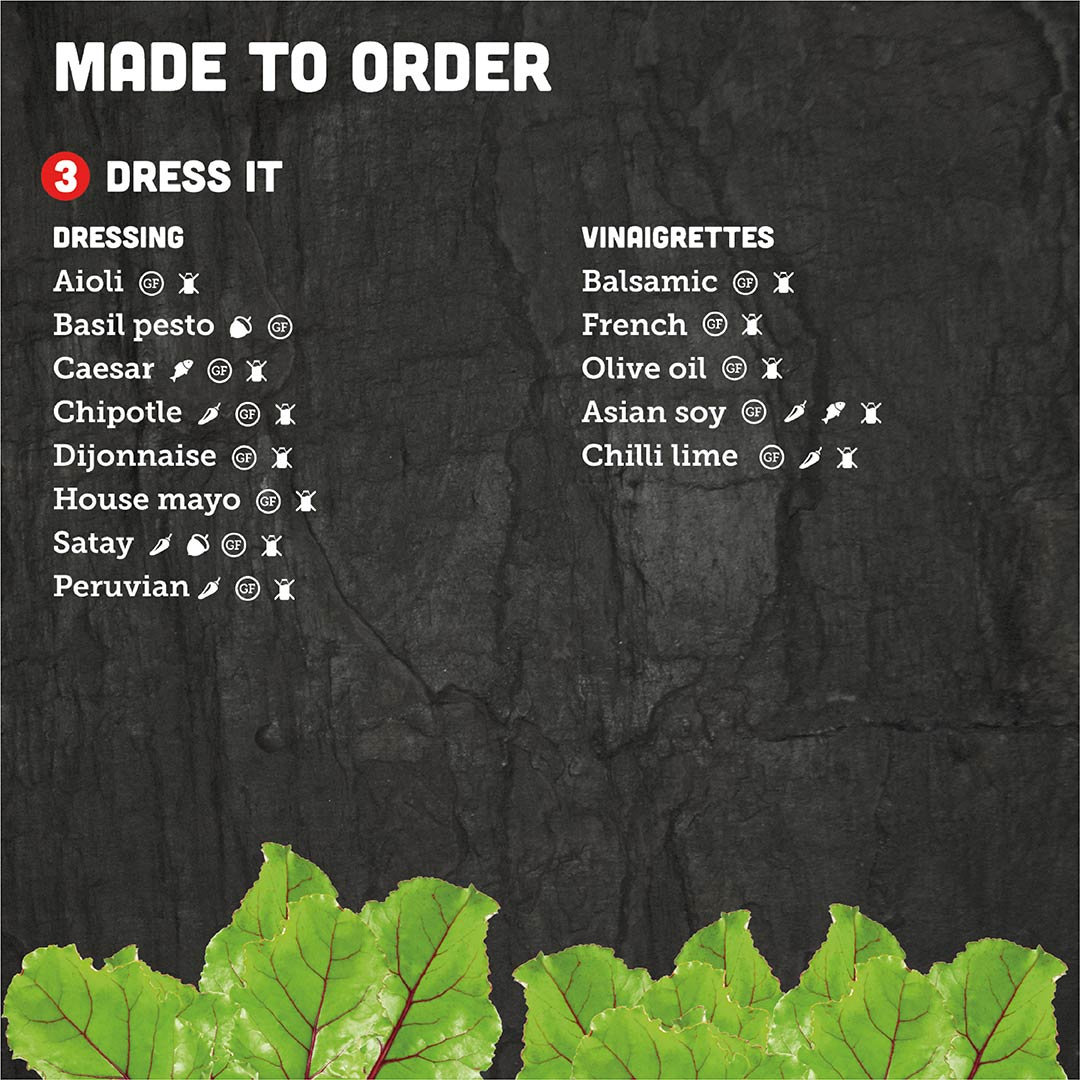 Made-to-Order-Dressings
